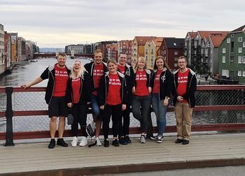 Styret i Norske 4H-alumner 2019/2020.