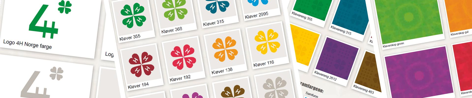 Illustrasjon 4H Norge sin grafiske profil