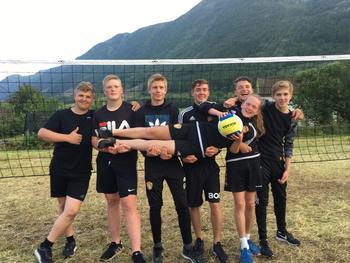 Volleyballspillere
