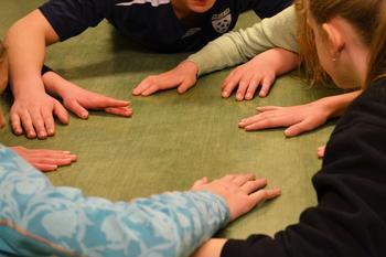 Medlemmer leker på styrevervskurs