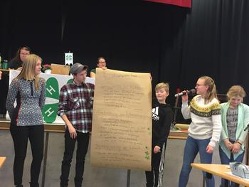 Framføring av gruppearbeid