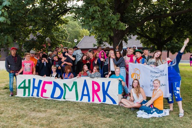 Gruppebilde 4H-ere fra Hedmark