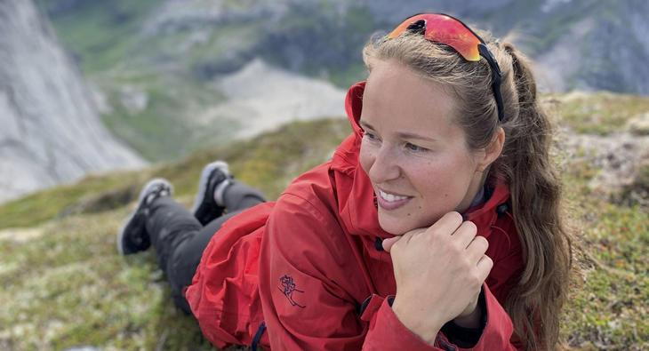 Randi Versto Kaasa i fjellheimen