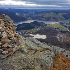 Utsiktsbilde fra Storafjellet