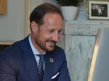H.K.H. Kronprins Haakon. Foto. Det kongelige hoff.