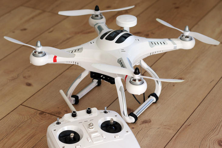 Drone, foto: moerschy fra Pixabay