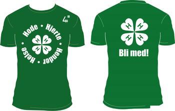 4H T-skjorte