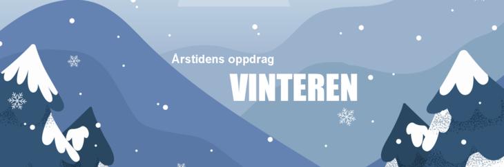 Illustrasjon vinter
