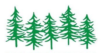 Grønne trær