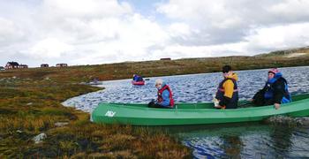 Kanopadling Hardangervidda