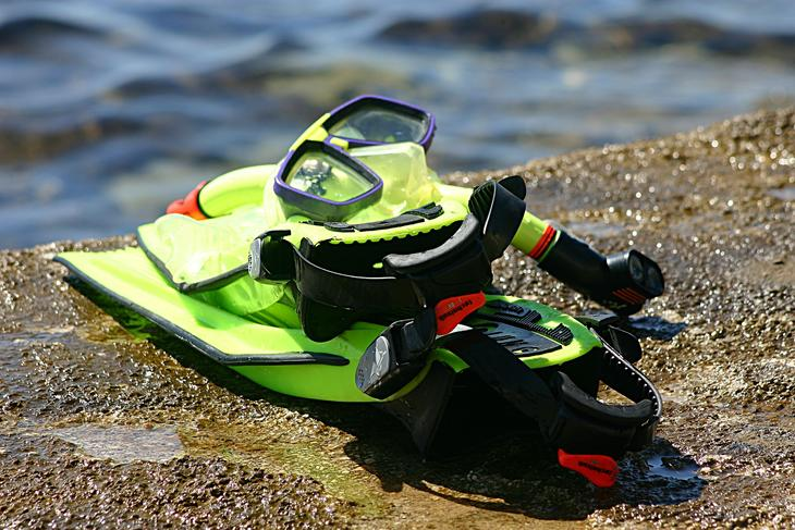Snorkleutstyr, foto: RaceFeri fra Pixabay