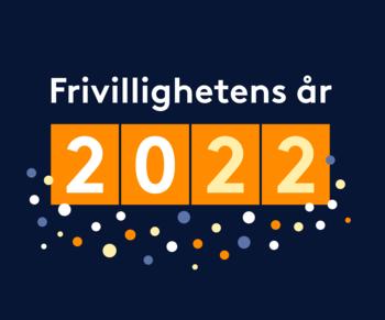 Logo frivillighetens år 2022