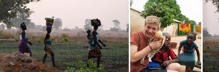 4H-ere på reise i Gambia