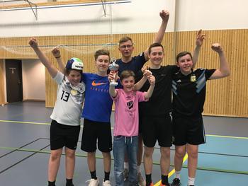 Nattvolleyballcup-vinnarane 2019 - Trekløveret 4H
